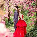春天拍婚紗