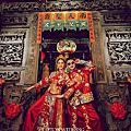 廟宇中式婚紗