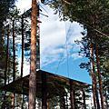 入住森林裡的祕密聚落──瑞典樹屋旅館