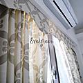 宜蘭透天~自然樸素~窗簾設計