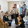 2009-10-24琇貞姐加人北上試飲咖啡