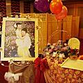 台中松戶日本料理餐廳婚禮佈置