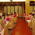 台中江屋日本料理餐廳婚禮佈置