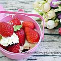 木匠手作 菜瓜布蛋糕 荷包蛋布丁 草莓喜籃-提拉米蘇蛋糕 創意又美味的造型甜點
