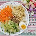 五味集食【集食無双麵】銷魂麻醬、鬼火椒麻、激香油葱 #5分鐘上桌 #手工日曬麵