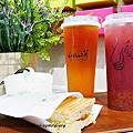 【西門飲料】LiCha禮采芙 這就是任性的理由 #禮采芙 #手搖飲料 #台北飲料 #紫想咬一口 #金湯烏龍 #巧巴達