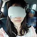 【Comefree康芙麗】USB定時三段溫控熱敷眼罩 旅行飛行適用 (淡雅灰)