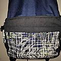 【SOLIS】ONES小尺寸前袋款電腦後背包 #環保材質 #綠色智慧紡織風 #防撥水後背包 #筆電背包