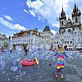 【捷克 布拉格】舊城廣場 走進蔡依琳唱的「布拉格廣場」