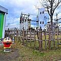 【日本 淡路島】蠟筆小新冒險樂園 挑戰空中溜索 8米高戶外冒險場 有50隻漫畫公仔可拍