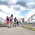 【桃園 旅遊】石門水庫新玩法 攀樹體驗 陸上衝浪 騎自行車漫遊環湖公路 低碳運動觀光正夯