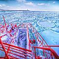 【北海道】紋別 乘坐破冰船 航向遼闊冰河 手握鑽石流冰 冰雕首里城再現 超卡哇伊的海豹破冰船玩偶必買