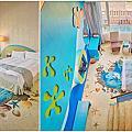 【墾丁住宿】統一渡假村墾丁海洋體驗樂園 最適合變裝成美人魚的海底總動員主題房 還有多項親子遊樂設施