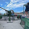 【馬祖 北竿】短坡山營區 昔日軍營成飛機起降絕佳觀景點 還可體驗操作M1 40高砲 飛機迷必訪