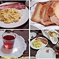 4月中吃的早餐。