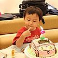 小漢克兩周歲生日@京星&君悅