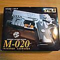 收藏的玩具模型槍