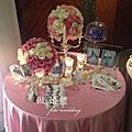 (婚佈)1012淡粉公主婚禮 喜來登祿壽廳
