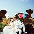 榮獲2011年北海岸婚紗留倩影攝影比賽『銀牌獎.創意獎』