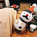 祖孫館|雪人襪偶