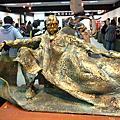 石碇 雕塑家與詩人楊敏郎先生創作