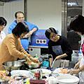 2009/12/04 海鮮培根大阪燒 & 味增湯 by 簡瑩華日本料理教室