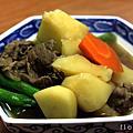 2009/12/11 涼拌鱈魚肝 & 馬鈴薯燉肉 by 簡瑩華老師日式料理廚藝教室
