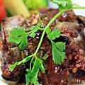 2009/12/17 BBQ碳烤豬肋排 & 和風牛肉沙拉 by 張秋永廚藝教室