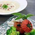 0318張秋永廚藝教室:普羅旺斯海鮮盅 & 蒜苗馬鈴薯濃湯
