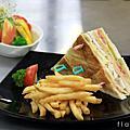 0401千島主廚沙拉 & 總匯三明治