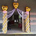 宜蘭 婚禮佈置  20151011頂寮活動中心