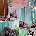 宜蘭 婚禮佈置 20151011 龍潭龍佳園餐廳
