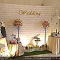 宜蘭婚禮佈置 會場佈置 宜蘭龍園會館 20170402