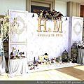 冬山河香格里拉 豪汀堡廳 宜蘭婚禮佈置