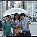 美國 Book 6 Chicago 千禧公園。藝術品Cloud Gate