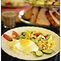 豐盛健康的早餐