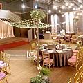 竹北晶宴-美式舞池、證婚佈置(客製)