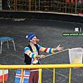 清境農場6月國外小丑雜耍秀