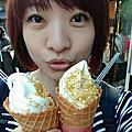 金澤。烏骨雞卵冰淇淋