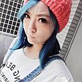 moon hair 星空藍