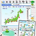 【晴時多雲偶陣雨】日本天氣怎麼查?
