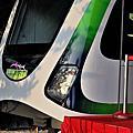 2014台中捷運首度亮相。MRT&BRT