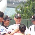 喬傑立與緯來獵人的慈善棒球賽