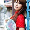2012-10 咪咪 板橋林家花園 時裝外拍