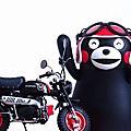FUJIMI 1/12 Honda Monkey Z50 Ver.Kumamon