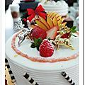 彰化永誠 耶誕節蛋糕裝飾課