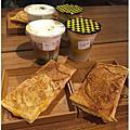 台北西門町美食 【Oven Coffee &鯛可頌】 濃香咖啡&可頌鯛魚燒~可愛又好吃的下午茶小品!濃抹茶風味的京都風拿鐵是抹茶控必點選擇唷!