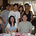 2007,6,18 謝師的聚餐