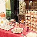 婚禮佈置‧1102新竹華麗雅緻‧桃粉系名媛婚禮派對