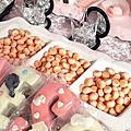 婚禮佈置‧1106台北晶華‧粉系夢幻公主風婚禮